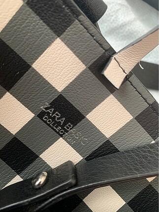 Beden Zara kendinden cüzdanlı askılı büyük çanta
