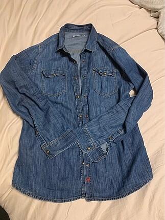 Mavi jeans kot gomlek