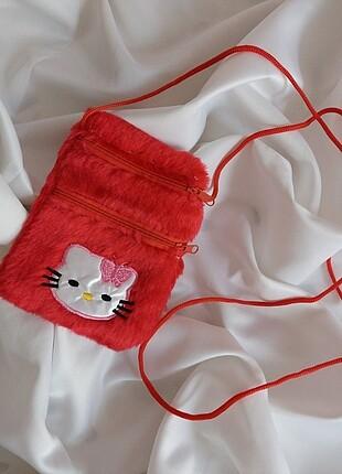 hello kitty askılı cüzdan