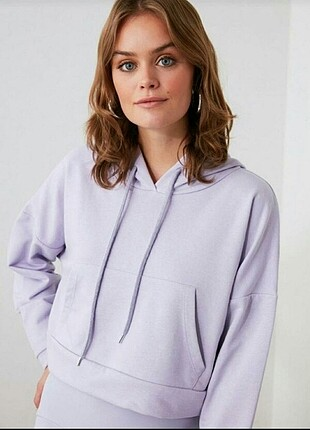 Trendyol milla crop Sweatshirt