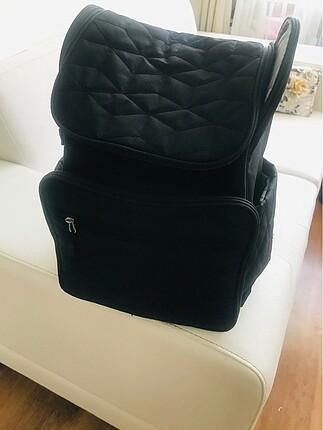 Baby mom kapitoneli sırt çantası