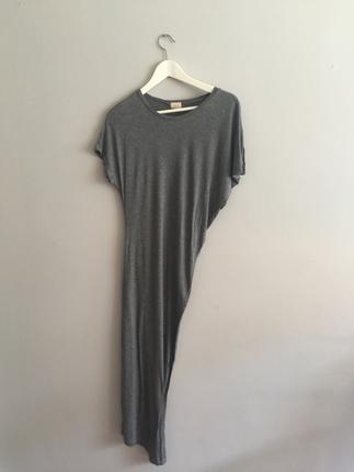 H&M Basic Asimetrik Elbise