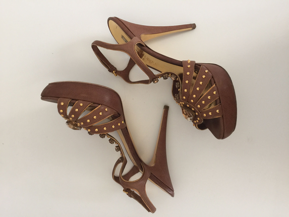 Miu miu Üzeri Taşlı Sandalet