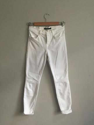 J brand beyaz jeans
