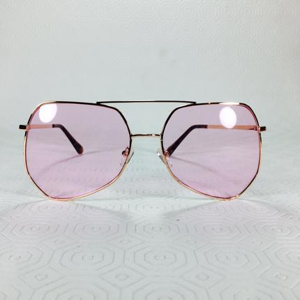 Pembe Vintage Gözlük