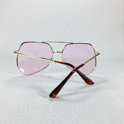 Diğer Pembe Vintage Gözlük