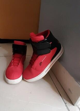 Mp unisex kirmizi spor ayakkabi
