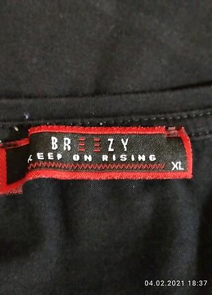 xl Beden siyah Renk BREEZY XL BEDEN BAYAN BLUZU