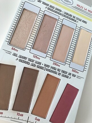 The Balm highlight and contour paleti