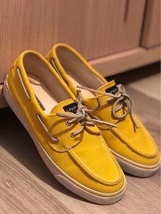 Sperry sarı severler için