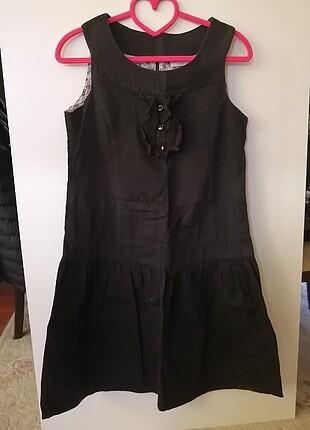 Lc waikiki siyah tatlı günlük elbise