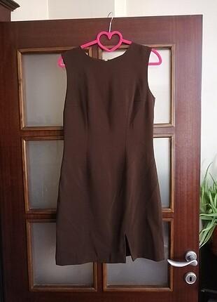 Kahverengi Kadın Elbise