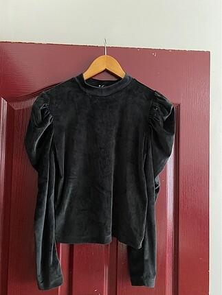 Tarz kadife bluz & body