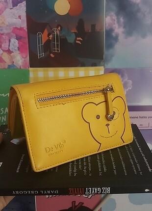 Sarı de vib collection cüzdan