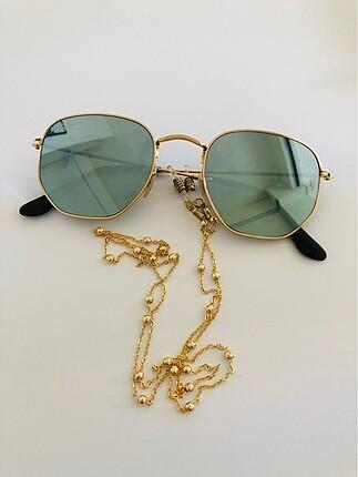 Gold gözlük zinciri