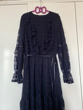 Lcw güpürlü elbise