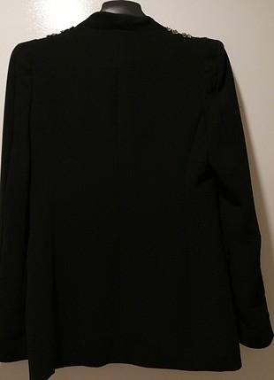 38 Beden siyah işli ceket