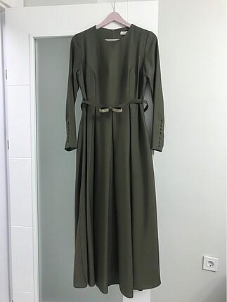 Uzun tesettür elbise