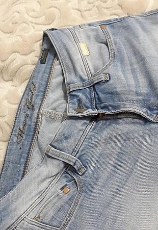 28 Beden mavi Renk kot pantalon