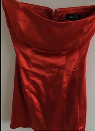 Bebe markalı Kırmızı gece elbisesi