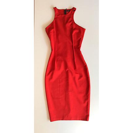 xs Beden Ofis stili elbise