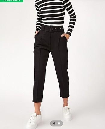 Kaşe siyah pantolon