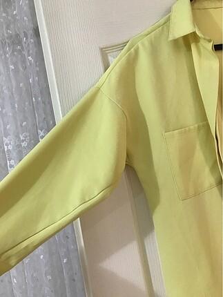 m Beden sarı Renk SARI RENK GÖMLEK