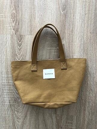 Manuka mini kanvas çanta