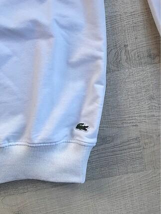 s Beden beyaz Renk Lacoste sweatshirt