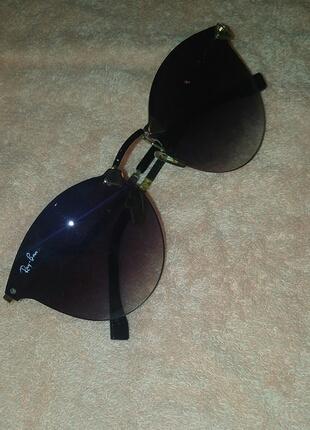 Şık Rayban Siyah Gözlük