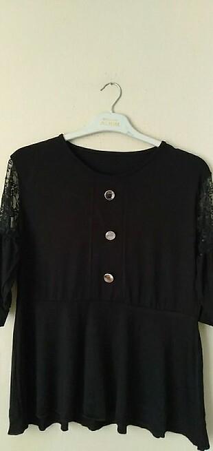 xl Beden siyah Renk Bayan tişört