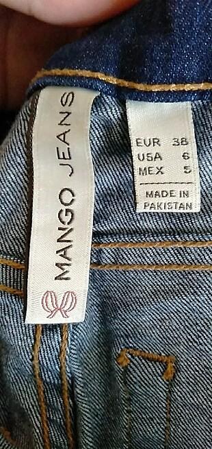 Bayan mango kot pantolon