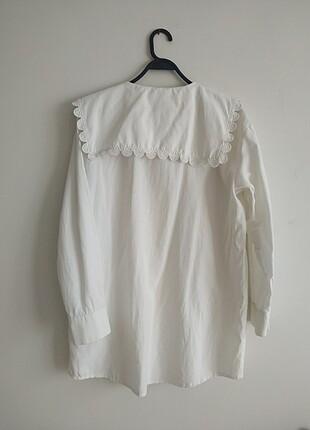Suud collection beyaz gömlek