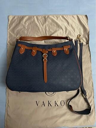 Orjinal Vakko Askılı Çanta