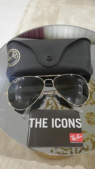 Beden siyah Renk Ray-Ban Erkek güneş gözlüğü