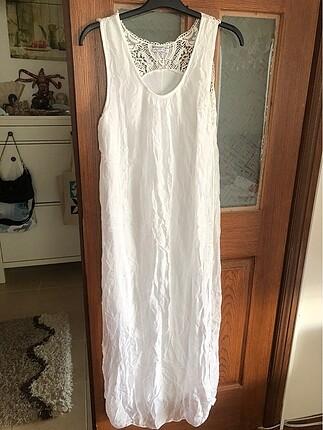 İtalyan ipeği uzun elbise