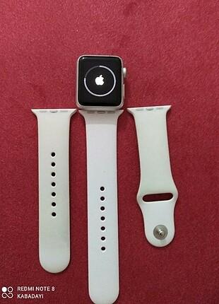 m Beden beyaz Renk Apple Watch Series 1 - 1 Yıl Garantili Akıllı Saat