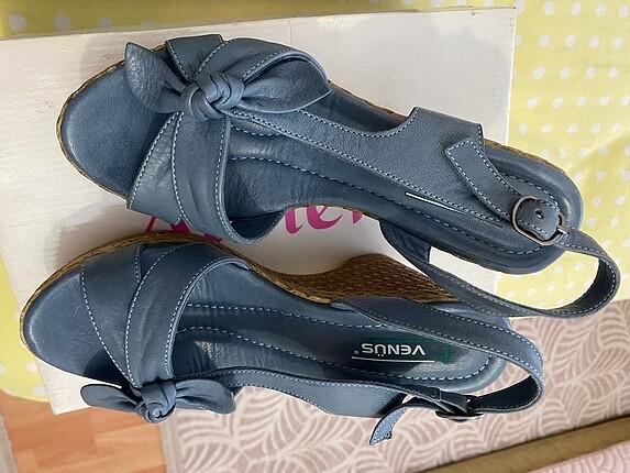 37no. Mavi sandalet