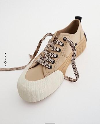 Zara yanık renk ayakkabı