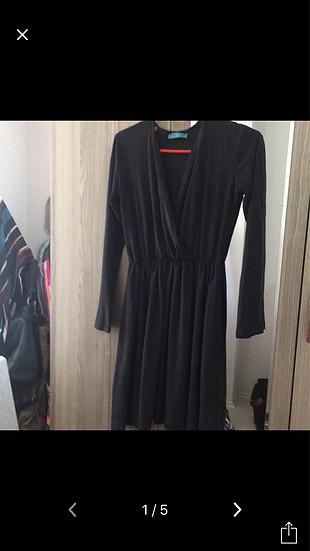 Süet kumaş elbise