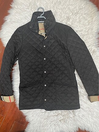 İnce burberry mont