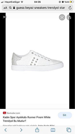 guess star sneakers