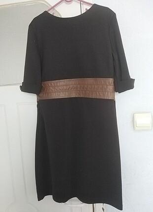 Kahverengi elbise
