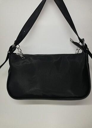 Beden siyah Renk Baget çanta zincirli