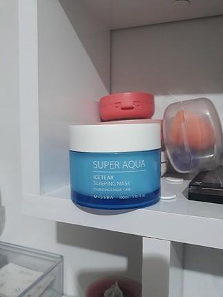 missha super aqua uyku maskesi
