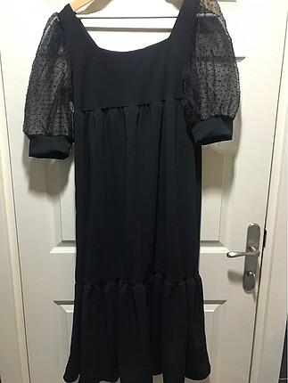 Zara Siyah bol kesim elbise