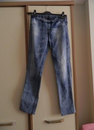 Bershka Beli Lastikli Kot Pantolon