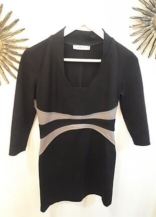 Kisa uzun kol elbise????