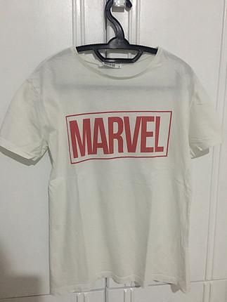 Marvel beyaz tişört