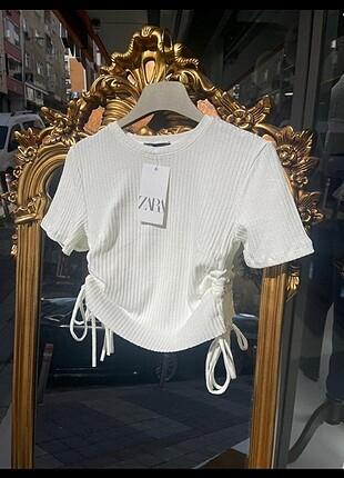 Zara crop bluz